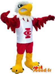 Wholesale Eagles Mascot Costume - Custom eagle mascot costume Adult Size free shipping