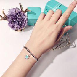 Pulsera de pelota verde online-Nueva pulsera de bola de acero de titanio etiqueta redonda Rosa corazón Corazón verde Pulsera Regalo de moda para amigos