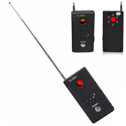 Wholesale wireless bugging devices - Wireless M Device Audio Bug Finder GPS Signal Laser Lens RF Tracker Anti Detector CC308+ Q99 @JH