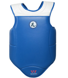 guantone china Sconti wesing Professional Muay Thai IFMA Approved Sparring Competition Protezione del petto MMA Training Chest Shield