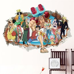 Diseños de papel tapiz para dormitorios online-Adhesivo de pared a prueba de agua extraíble Arte Habitación para niños Dormitorio Sala de estar Pegatinas de diseño interior Papel pintado 3D Ecológico 6 5tt jj
