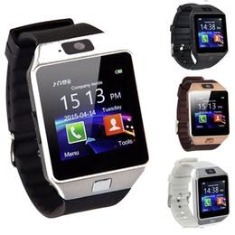 Заводская цена DZ09 Smart Watch цифровые мужские часы для Apple iPhone Samsung Android мобильный телефон Bluetooth SIM-карты TF камеры от Поставщики цена мобильного телефона
