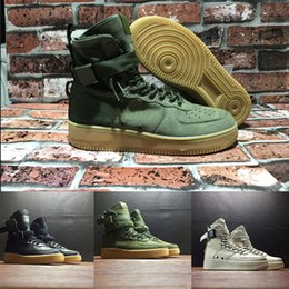 Wholesale Field Brown - (With Box) Special Field SF For 1 One white green Men Women High Boots Running Shoes Sneakers Unveils Utility Boots Armed Classic Shoes