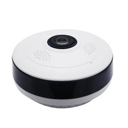 Câmera de webcam sem fio on-line-2018 Fisheye VR Câmera Panorâmica HD 960 P 1.3MP Sem Fio Wi-fi Câmera IP Home Security Sistema de Vigilância Câmera Wi-fi 360 Graus Webcam V380
