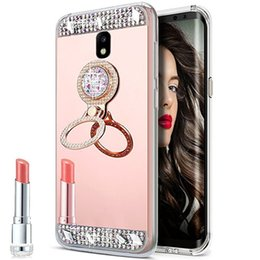 casos da forma para o iphone 4s Desconto Luxo bling espelho tpu phone cases para samsung galaxy a8 a6 plus j8 j6 j4 2018 j2 pro j2 prime tpu case tampa traseira
