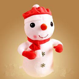 детские игрушки Скидка Санта-Клаус Фаршированная Плюшевая Игрушка Снеговик Рождество Лось Теплые Руки Подушка Крышка Подушки Дети И Девочки Подарки