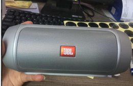 Wholesale portable small speaker - New Refurbished JBL Charge 2+ Portable Bluetooth Speaker mixed colors with small package