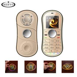 Cellulari sbloccati Giro con la punta delle dita Doppia scheda Doppia in standby Mini Dito portatile Gyro cellulare con tastiera da il telefono doppio dei telefoni del sim ha sbloccato fornitori