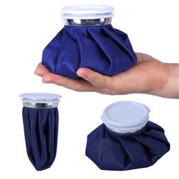 Pacotes de frio on-line-Kit de Caminhadas ao ar livre Camping Reutilizável Joelho Cabeça Perna Muscular Lesões Esportivas de Primeiros Socorros Alívio Da Dor Saco De Gelo Calor Cold Pack 8 5xh dd