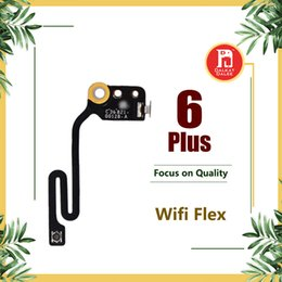 antena de iphone flex Rebajas Wifi Flex Cable para iPhone 6 Plus 5,5 pulgadas plana Wifi Antena Antena inalámbrica Señal aérea Flex Cable Repuesto Repuestos