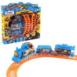 Поезд железнодорожный поезд набор игрушек Томас Папиг классические детские игрушки подарочный пакет для детей / автомобиль трек электрический слот развивающие игрушки VS le от