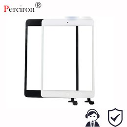 Wholesale Ipad Mini Touch Panel - New 7.9'' inch digitizer touch scree Panel for ipad mini 2 Retina with IC Connector + Home Button Flex Tablet PC protection