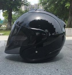 Wholesale Motorcycle Half Helmet Yellow - free shipping 2018 Top hot ARAI motorcycle helmet half helmet open face helmet casque motocross SIZE: M L XL XXL,Capacete
