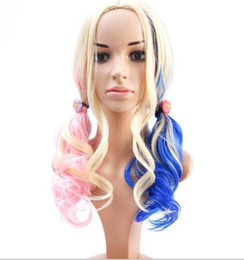 Buona Ombre Mermaid Unicorn Hair Wig Sintetico capelli lunghi ricci big  wave Parrucca di Halloween Capelli Cartoon Cosplay Parrucche Del Partito  FZP63 97271be47a0