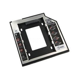Kebidu Universal Aluminium 2,5 2nd 9,5 mm Ssd HD SATA Festplatte HDD Caddy Adapter Laufwerk Optische Bucht für Cd Dvd Rom von Fabrikanten