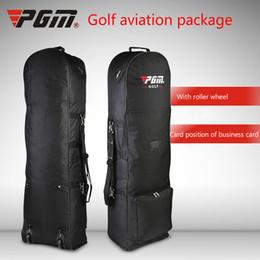 2019 pacotes de golfe Pacote dobrável e conveniente do porta-aviões da polia do golfe do golfe de PGM desconto pacotes de golfe