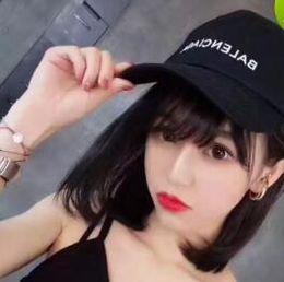 Chapéu de senhoras branco preto on-line-2018 marca BNIB chapéu boné onda cola logotipo 17FW Homme Ladies Mens Unisex vermelho bonés de beisebol branco strapback vidas negras assunto carta bordado