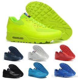 6d999f59b36 nike air max airmax HYP PRM QS Chaussures hommes 90 Tênis de Corrida Venda  Online Moda Dia da Independência Zapatillas Bandeira DOS EUA Tênis  Esportivos 40- ...