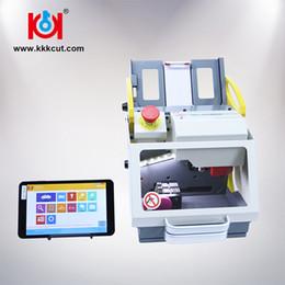 Bmw clave de corte online-Kukai Car Key Copy Machine Car Key Cutting Machine Última versión SEC-E9 Envío gratis Mejora herramientas de cerrajería 2019 Nueva venta caliente