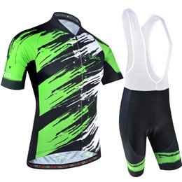 2018 BXIO Brand Cool Cycling Jerseys Highly Recommended Graffiti Style Bike  Clothing Green And White Short Sleeve Ropa Ciclismo Men BX-170 5152edbed