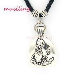 Wholesale Wholesale Purse Decorations - Pendants Necklace Chain Jewelry For Women Buddha Fish Purse Accessories Metal Reiki Pendulum Amulet Fashion Decorations Gifts