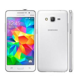 Auriculares de 8 gb online-Reconstruido Original 5.0 pulgadas Samsung Galaxy Grand Prime G531 G531H Dual Sim 3G WIFI GPS con accesorios para el auricular desbloqueado Teléfono móvil