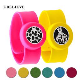 slap rings 2018 - Charm Bracelet Kid Jewelry Silicone Slap Bracelets Essential Oils Diffuser Wristband Anti-Mosquito Bracelets & Bangles For Kids