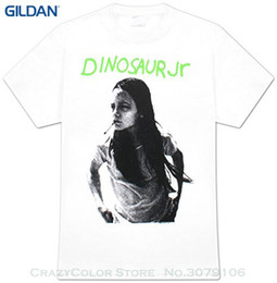 2019 short de dinosaure vert Tee-shirt manches courtes Casual pour les hommes Vêtements d'été Dinosaur Jr Green Mind T shirt promotion short de dinosaure vert