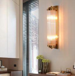 2019 klare glas lampenschirme Moderne luxus gold led wandleuchte hohe qualität gerade klarglas lampenschirm verwendet für luxus indoor hängen leuchte llfa rabatt klare glas lampenschirme