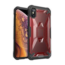 Étui iphone protecteur en Ligne-Coque anti-choc en caoutchouc robuste pour défense anti-choc et système de défense hybride pour iPhone 6 7 8 et plus