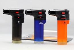 2020 cohiba zigaretten COHIBA Feuerzeug Mix Farbe Rauchen Zigarre Gas Feuerzeug Single Torch Flamme Feuerzeug für Zigarette Zigarre Rauchen rabatt cohiba zigaretten