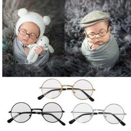 Recém-nascidos Crianças Adereços Fotografia Plana Óculos Bebê Estúdio de Fotografia Tiro Foto Prop Acessórios-M20 de