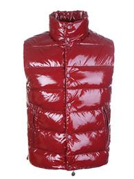 Marca de luxo Homens inverno quente para baixo colete vestido de penas casacos mens ao ar livre à prova d 'água para baixo coletes casaco homem jaqueta colete de Fornecedores de vestidos de inverno branco