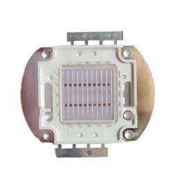 Wholesale 24v High Power Led - High Power 20W Plant Growth lamp Bright Red 620nm~630nm 600LM 22~24V 600mA SMD LED Light Parts