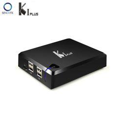 2019 dvb s2 media player Mecool KI Além disso DVB-S2 DVB-T2 receptor combo DVB-C caixa de tv Android Amlogic S905 Quad Núcleo 1 GB 8 GB 64bit 4K Android 7.1 media player dvb s2 media player barato