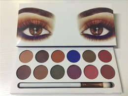 Wholesale Good Quality Makeup Palettes - Newest Makeup Palette The Royal Peach 12 colors eyeshadow powder vs Holiday Palette Kyshadow Good quality DHL shipping