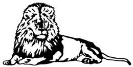 LION Için araba Styling Vinil Decal Sticker Araba Pencere Duvar Tampon Laptop Büyük Kedi Afrika Hayvan nereden