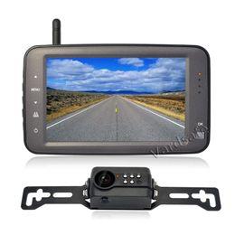 Carro lcd digital que inverte a câmera on-line-Vardsafe VS762 | Vista traseira da matrícula sem fio digital do carro que inverte o jogo alternativo da câmera