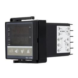 Светодиодный терморегулятор онлайн-Бесплатная доставка цифровой регулятор температуры LED PID терморегулятор термостат термометр датчик температуры метр termometro digitale