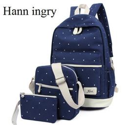 mochilas circulares Rebajas Mochilas de hombres y mujeres paquete de punto circular paquete de tres bandolera, mochila de lona de gran calidad y alta calidad H121D