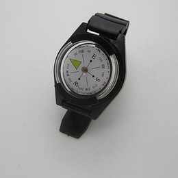 Wholesale Camping Watches Compass - Waterproof, shockproof, luminous outdoor special compass Camping hiking watch type magnetic compass
