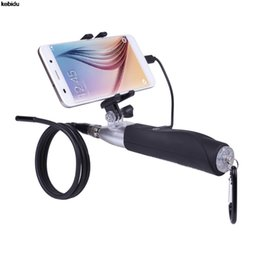 Tube de caméra en Ligne-Tube Endoscope étanche Endoscope Android USB Caméra d'inspection Borescope 6LED USB Endoscope Caméra Serpent Tube Tube Borescope