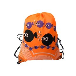 43*33cm Waterproof Nylon Outdoor Bags Drawstring Backpack Baby Kids Toys Travel Shoes Laundry Lingerie Sports Bag Swim Backpack Gym Bags