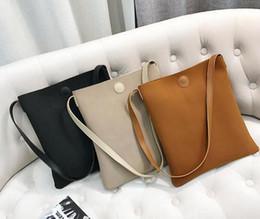Wholesale Matte Dresses - The latest Korean temperament simple matte single shoulder bag handbag all-match tide