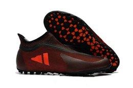 Nuevo Zapatillas de fútbol para hombre Turf X Tango 17 Purespeed TF IC Zapatillas de fútbol para interiores Botas De Futbol New Football Boots Predator Futsal desde fabricantes