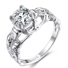 Discount Skull Wedding Ring Sets Skull Wedding Ring Sets 2019 On