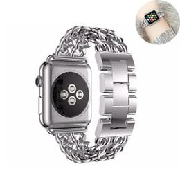 Argentina nuevo top Pulsera de eslabones para correa de reloj de Apple 42mm 38mm correa de acero inoxidable para correa de reloj de manzana iWatch 3/2/1 correa Suministro