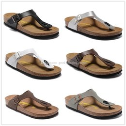 Wholesale Moccasin Slippers For Men - Gizeh Wholesale-Summer slippers for men and women, 2016 new cork bottom flip-flops, sandals with a couple flip flops Mayari 34-46