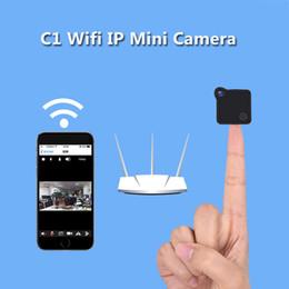 C1 Mini cámara Wifi Cámara IP portátil 720 P HD H.264 Cuerpo Cámara Detección inalámbrica de movimiento Mini DV Bicicleta magnética desde fabricantes