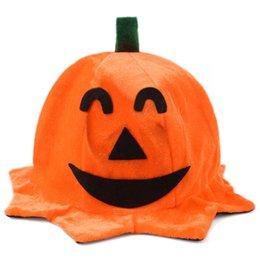 Wholesale Smile Face Mask - Orange Halloween Smile Face Cannons